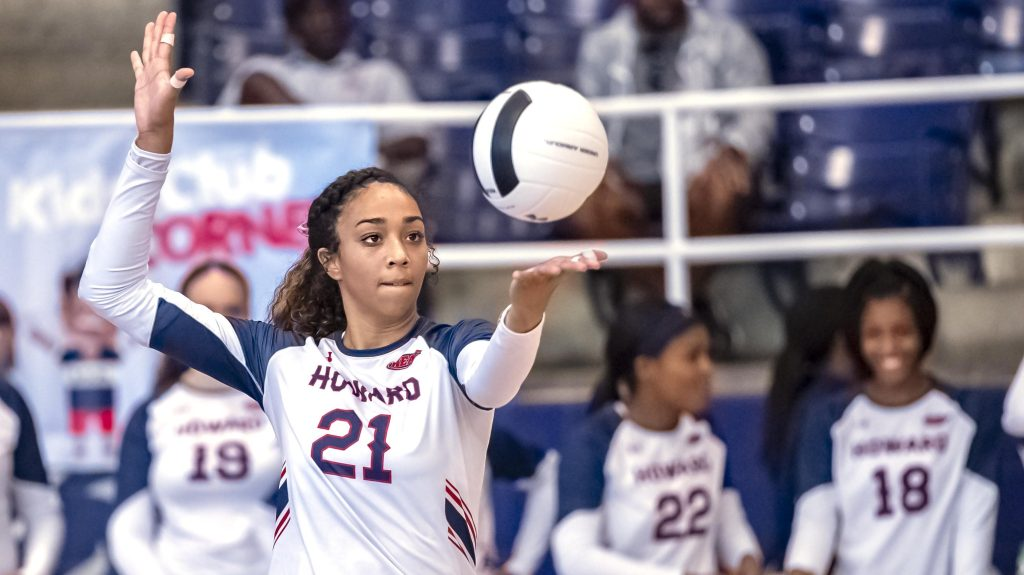 Howard is now home for top volleyball transfer Myca Mitchell