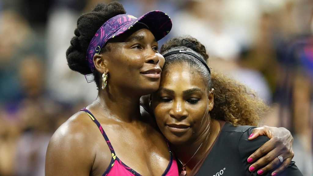 Venus showed Serena how to win