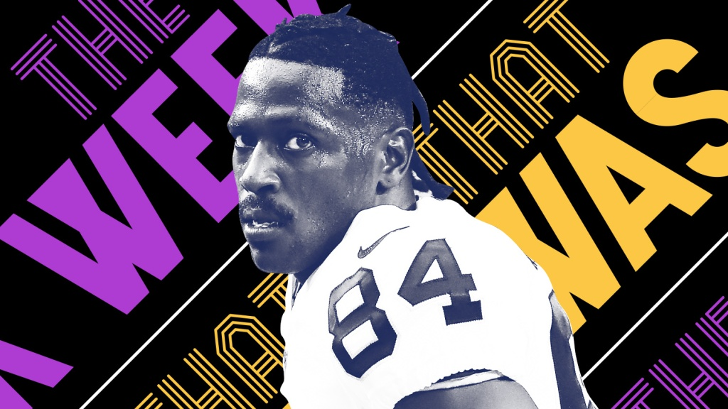 Antonio Brown is back at it again and other news of the week