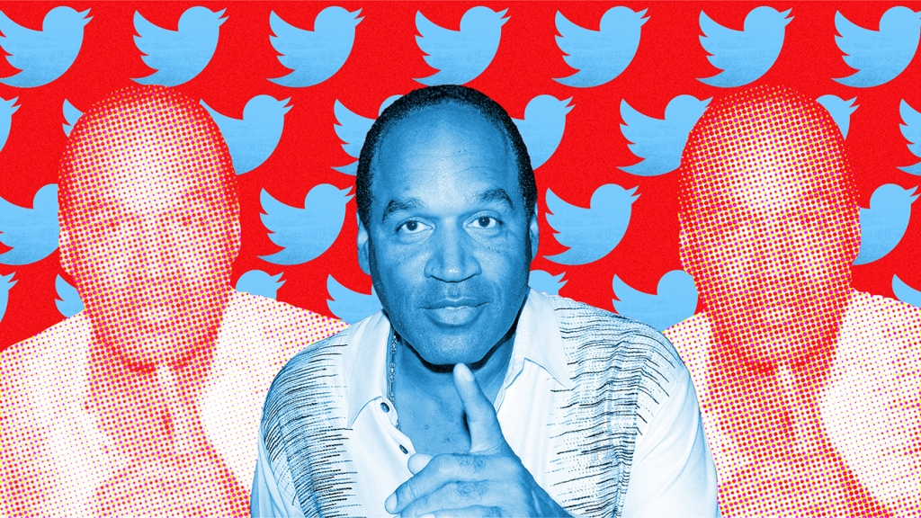 O.J. Simpson's first months on Twitter show why he'll never leave the public eye