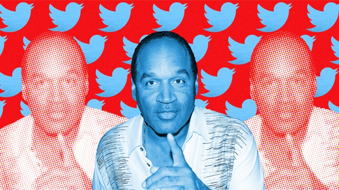 O.J. Simpson's first months on Twitter show why he'll never leave the public eye For a man who's been famous most of his life, and loathed for the last quarter century, abstaining from public notoriety was never an option