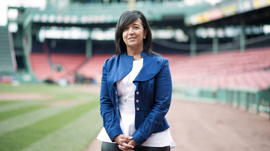 Red Sox's Raquel Ferreira breaks through baseball's glass ceiling