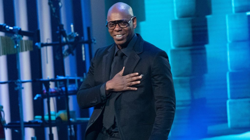 Dave Chappelle returns home to Washington to claim Kennedy Center's Mark Twain Prize