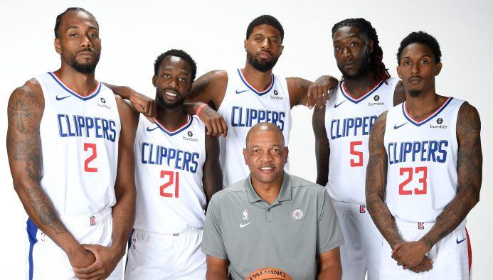 2019-20 LA Clippers Media Day