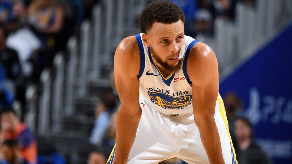 Town business: Steph Curry and Warriors could be in for a long season in  'The City'
