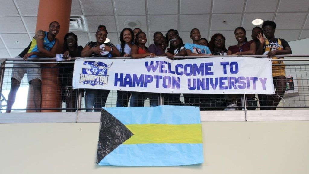 Displaced Bahamian students find safe haven at Hampton University