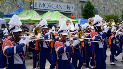 Morgan State University's Magnificent Marching Machine