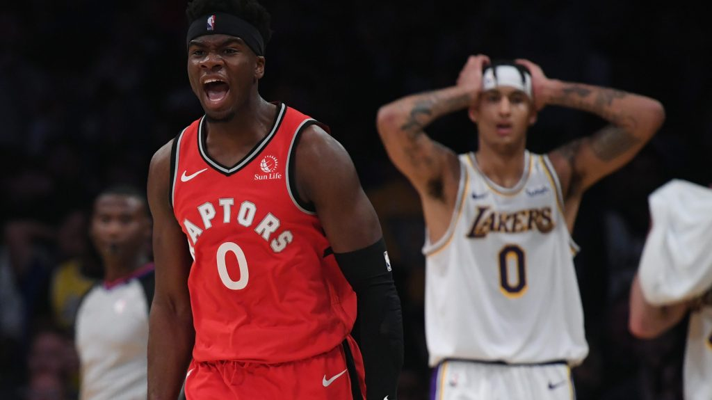 Started from the bottom: Terence Davis is living dream as Raptors' undrafted rookie