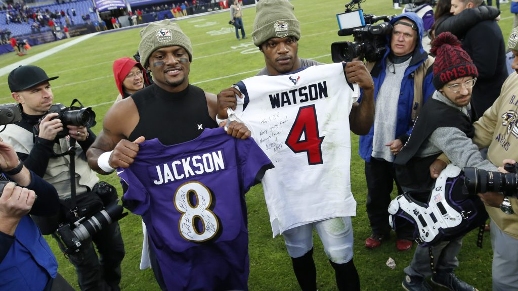 Lamar Jackson Vs Deshaun Watson Showed Duality Of The Black Qb Narrative