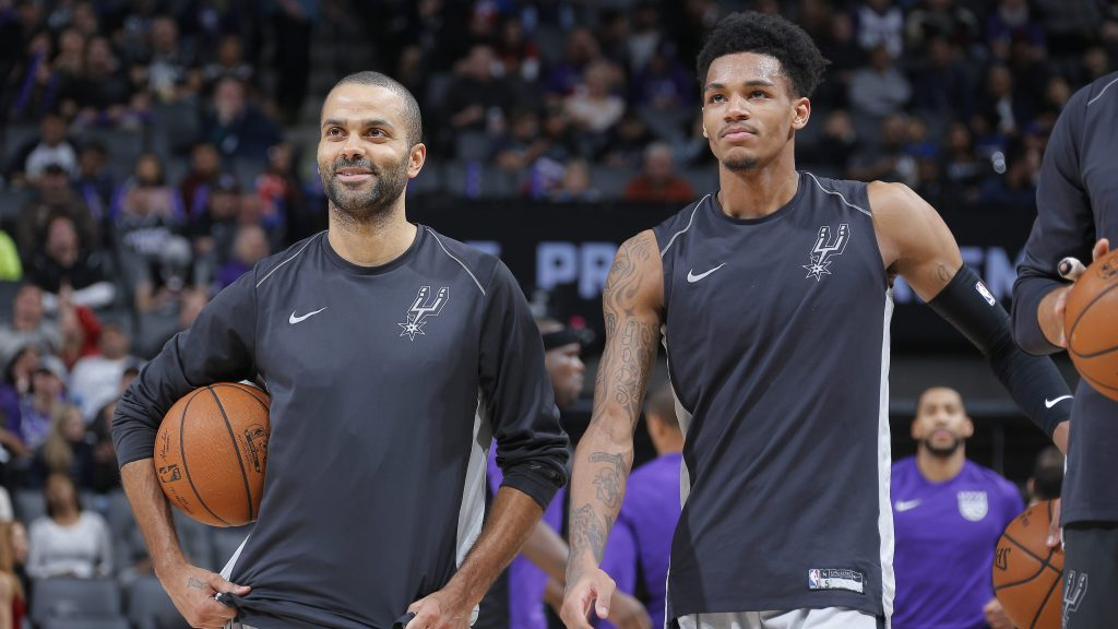 Tony Parker on Dejounte Murray: 'The Spurs are in good hands'