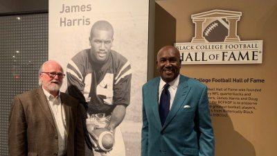 Shack Harris and Joe Horrigan