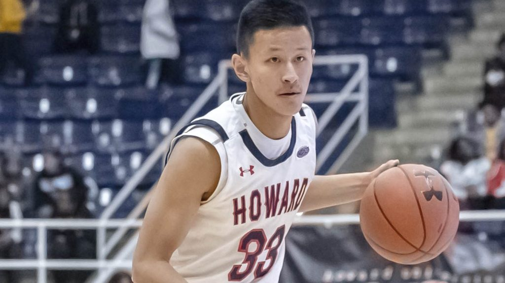 Ian Lee's basketball goals become reality at Howard