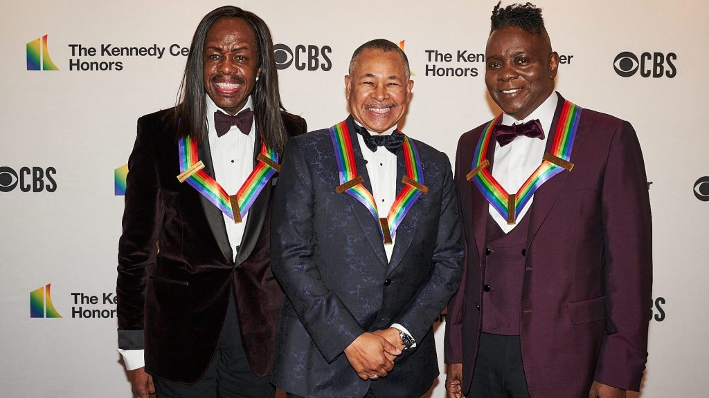 Earth, Wind & Fire brought the funk to the Kennedy Center Honors