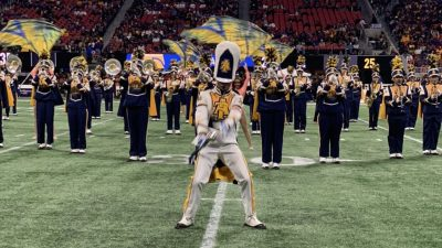 NC A&T Blue and Gold Marching Machine 2019.