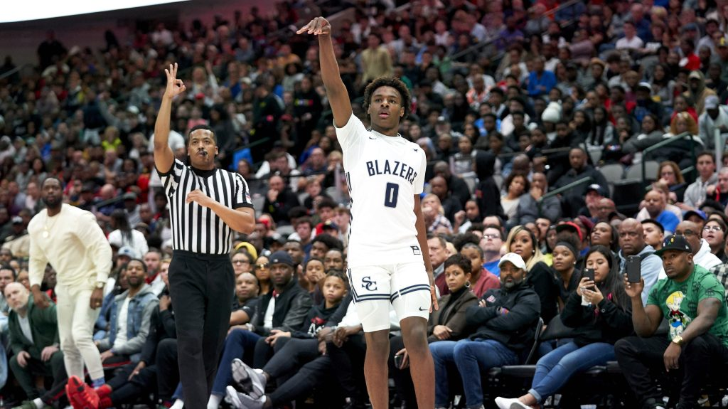 If Bronny James goes to N.C. Central, could that change big-time basketball recruiting?