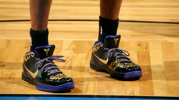 new style vast selection details for Kobe Bryant's story through 8 signature sneaker moments
