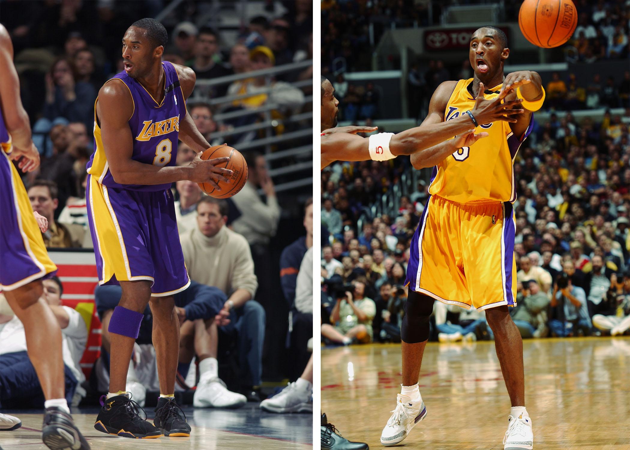 Treinta comunicación firma  Kobe Bryant's story through 8 signature sneaker moments