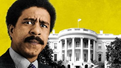 Richard Pryor and White House Illustration