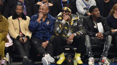 Celebrities Attend The 68th NBA All-Star Game – Inside