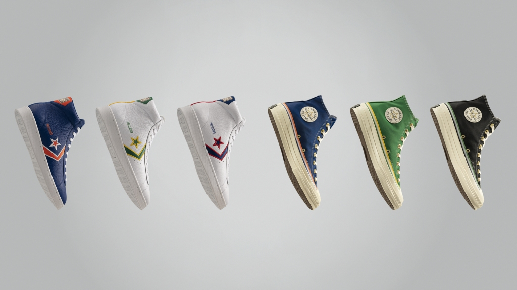 Converse collection honors NBA pioneers Chuck Cooper, Earl Lloyd and Nat Clifton