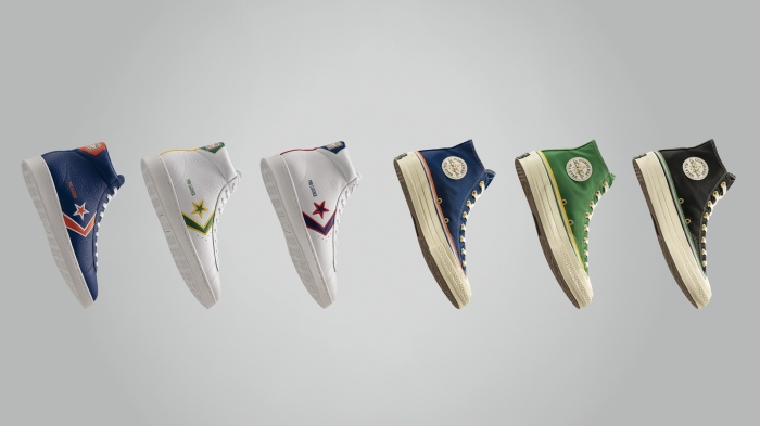 Converse collection honors NBA pioneers Chuck Cooper, Earl