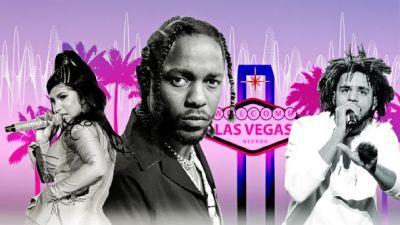 The Undefeated: Las Vegas/Hip-Hop Artists Illustration