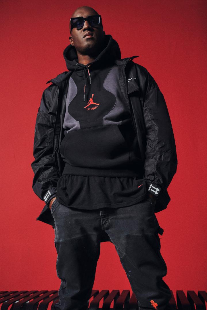 v off white nike hoodie