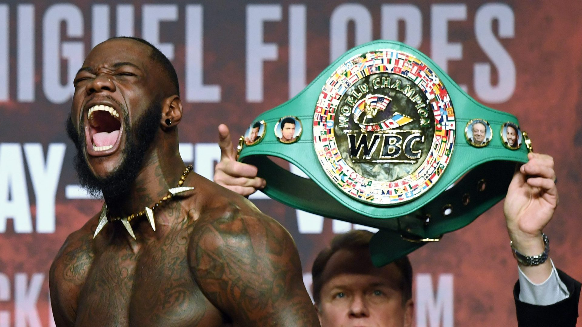 Deontay Wilder v Luis Ortiz – Weigh-in