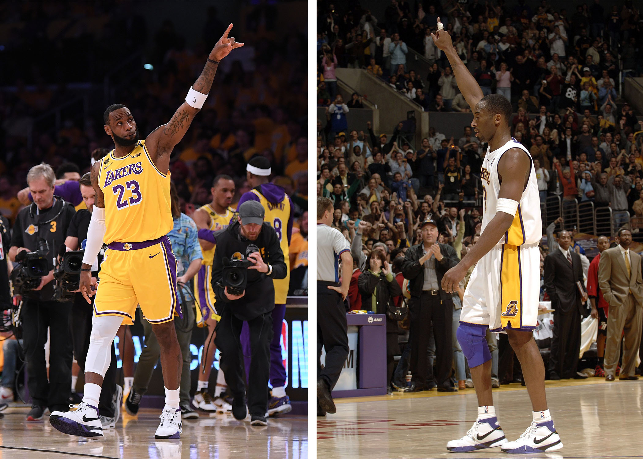 mourned Kobe Bryant through sneakers