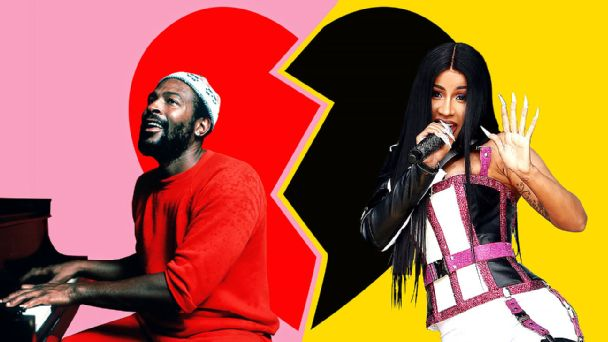 Where did the love go? In today's black pop music, love songs are harder to find