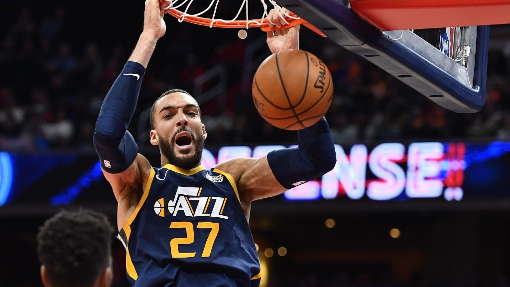 First-time All-Star Rudy Gobert is fulfilling his dad's hoop dream