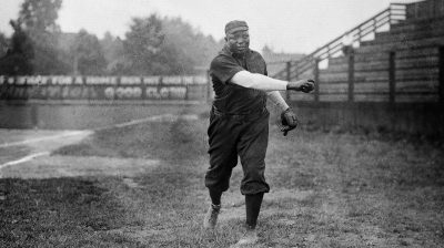 Portrait Of Pitcher Rube Foster