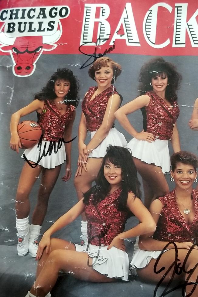Former Chicago Luvabulls dancer, 1992-1993, Sherri Bradley .