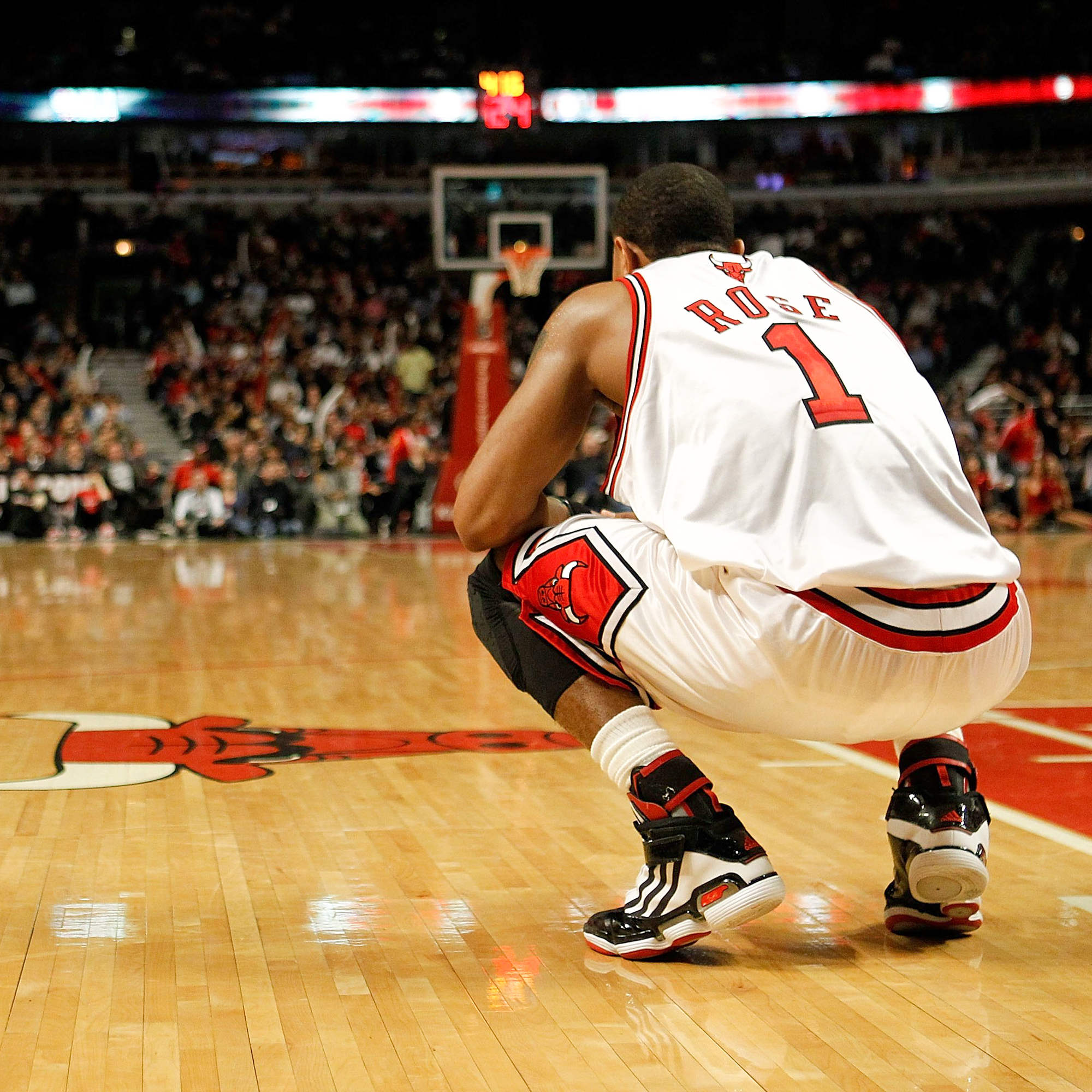 Derrick Rose during his time with the Chicago Bulls