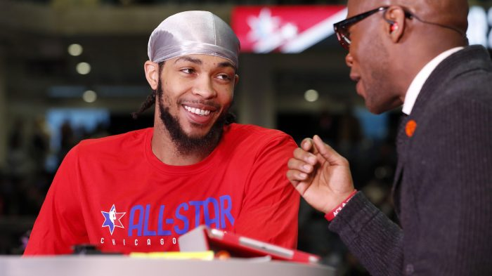 2020 NBA All-Star – Practice and Media Availability presented by AT&T