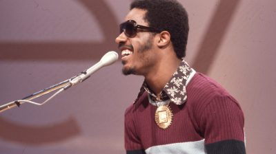 Stevie Wonder performs on Soul Train