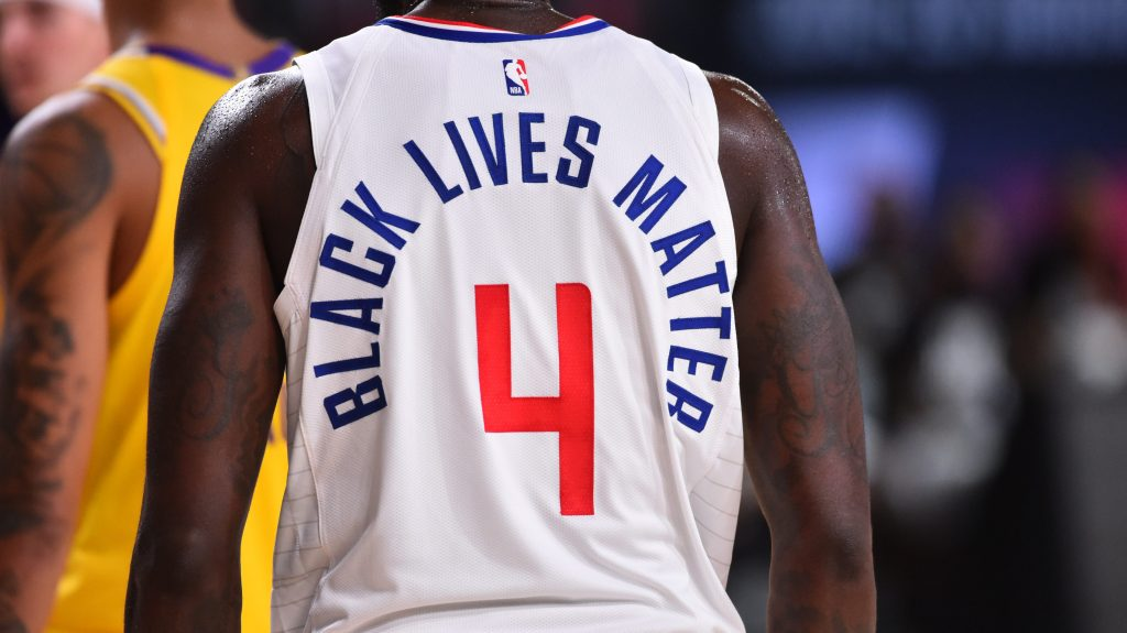 Social Justice Messages Each Nba Player Is Wearing On His Jersey