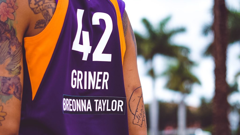 Brittney Griner What It Means To Wear Breonna Taylor S Name On My Jersey