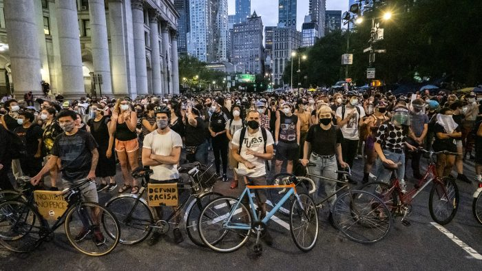 News – George Floyd Protest NYPD Budget – New York City
