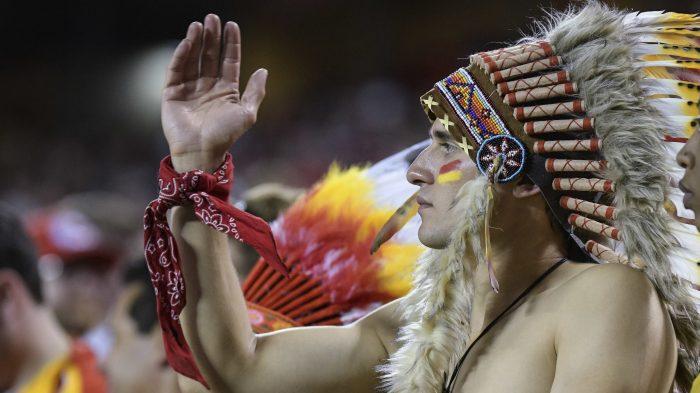 Chiefs Tomahawk Chop Football