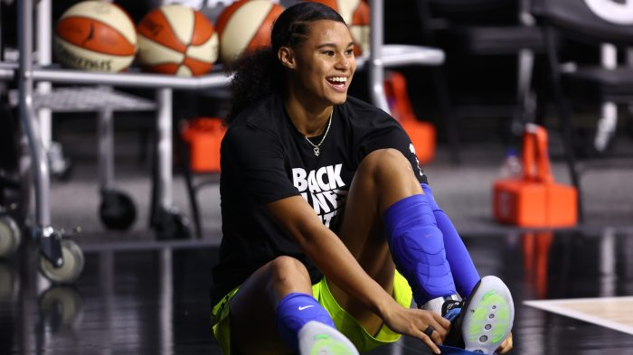 WNBA rookie Satou Sabally is soaking it all up in the bubble