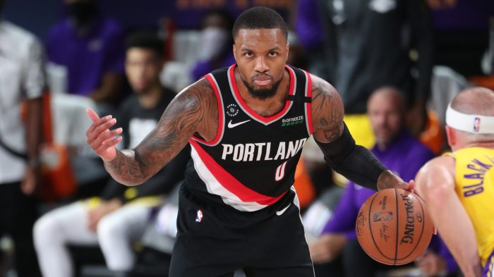 Portland Trail Blazers v Los Angeles Lakers – Game One