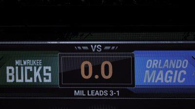 Orlando Magic v Milwaukee Bucks – Game Five