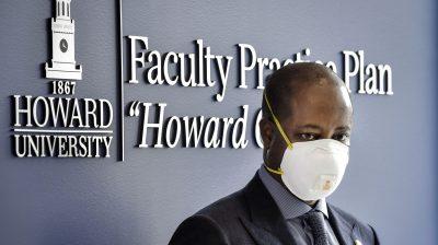 Wayne Frederick, Howard President,