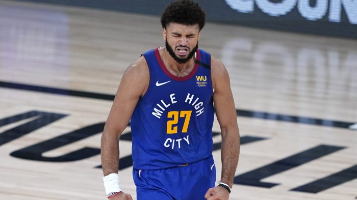 APTOPIX Nuggets Jazz Basketball