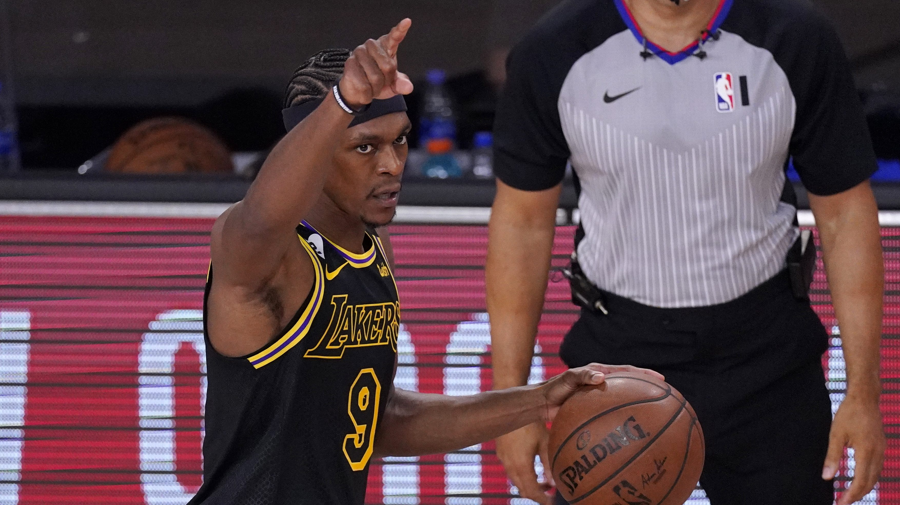 Rajon Rondo Gets Boost From His Brother Inside NBA Bubble