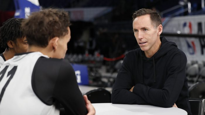 Steve Nash will use his voice as Nets coach: 'It's important to support this fight'