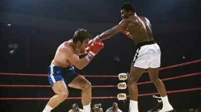 Muhammad Ali and Jerry Quarry During Bout