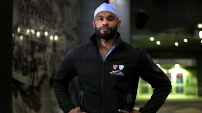 Myron Rolle on the Front Lines