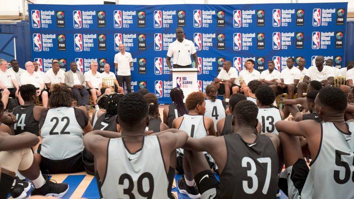 NBA Academy Africa Clinic